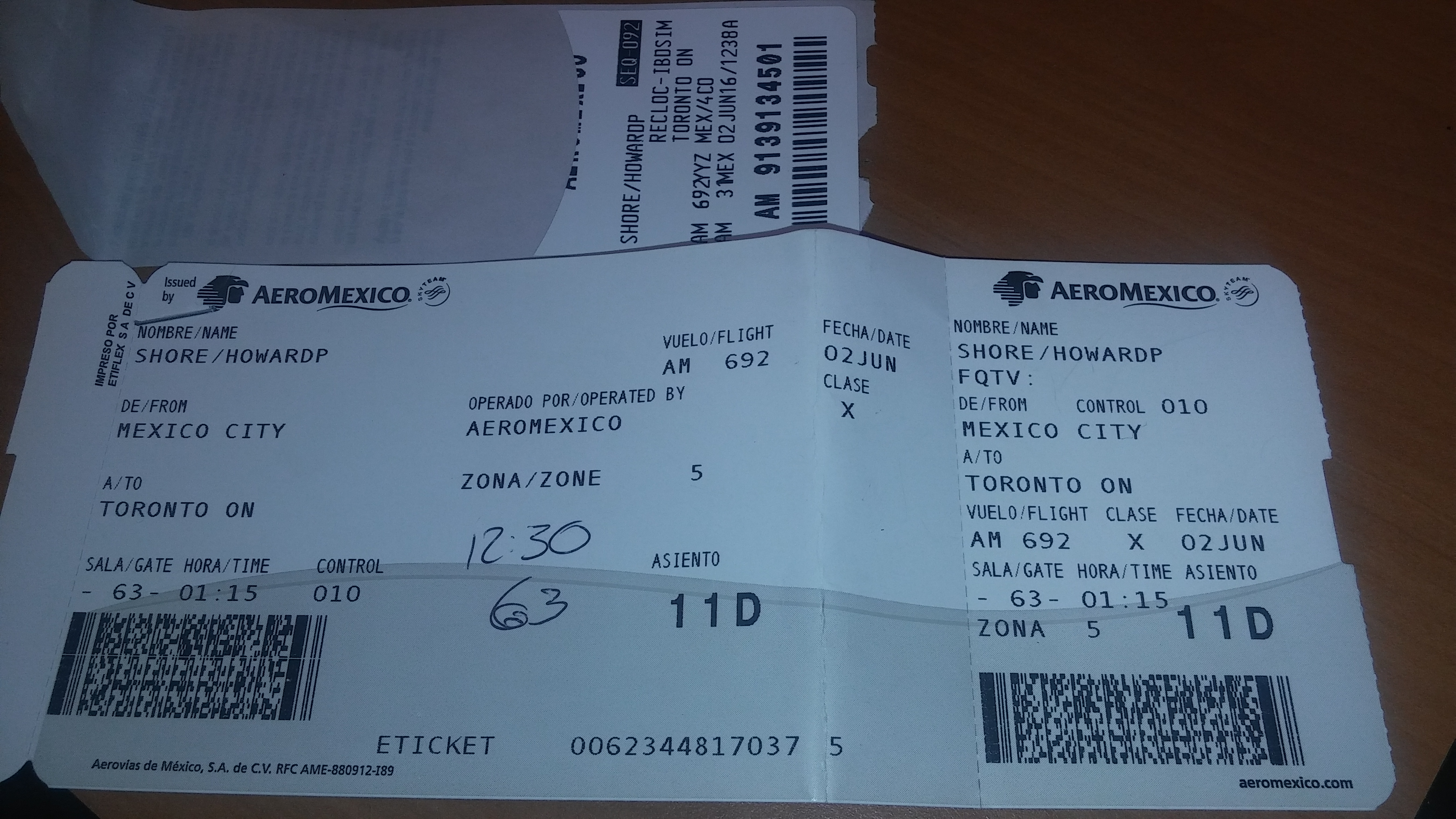 top 3 reviews of aeromexico airlines