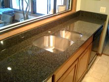 Marble Tech Granite Countertops w/Undermounted Sink