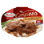 Hormel Compleats - Roast Beef with Gravy and Mashed Potatoes