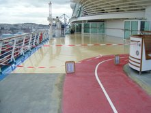 Royal Caribbean - Ship under construction during cruise - Picture 1