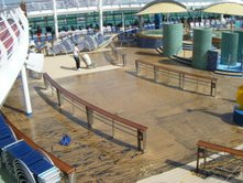 Royal Caribbean - new floor being laid during cruise - Picture 3