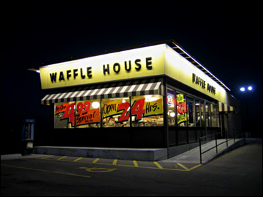 Top 10 Reviews of Waffle House