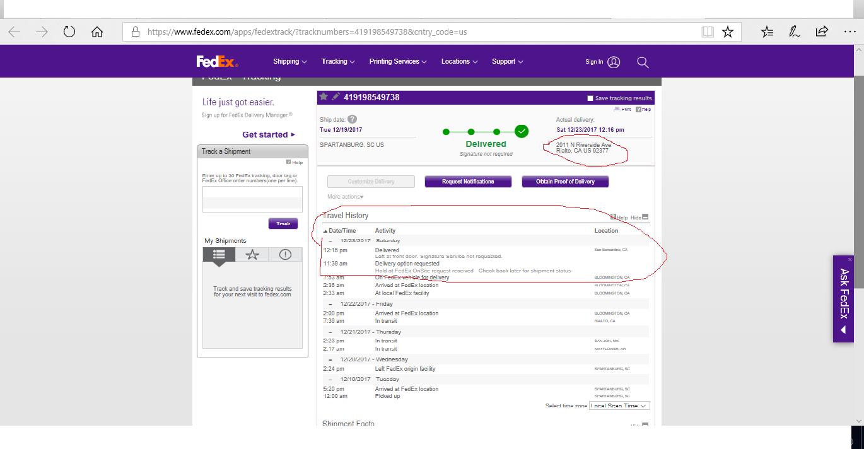 Fedex tracking - cafenews info